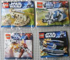 Lego Star Wars Minis 30052 30059 30058 30055 AAT MTT STAP Droid Fighter, Promos