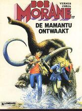 BOB MORANE EO néérlandais album BD DE MAMANTU ONTWAAKT Henri VERNES VANCE comic