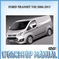 FORD TRANSIT VM 2006-2013 WORKSHOP SERVICE REPAIR MANUAL IN DISC