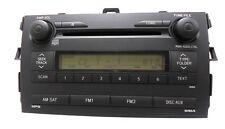 2009 2010 2011 Toyota Corolla 6 Cd Radio Changer 86120-02770 A51846 Oem Aux