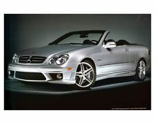 2007 Mercedes Benz CLK63 AMG Cabriolet Automobile Photo Poster zc9923
