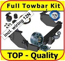 Towbar & Electric 7pin 12N Fiat Ducato Bus Box Van 1994-2006 / Full Towbar Kit