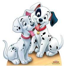 DALMATIAN PUPPIES 101 Dalmatians LIFESIZE CARDBOARD CUTOUT STANDEE STANDUP