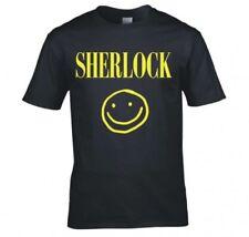 Markenlose Smiley Kurzarm Herren-T-Shirts