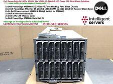 Dell PowerEdge M1000e 10GBit 16x M620 E5-2660v2 320-Cores 2TB RAM Blade Solution