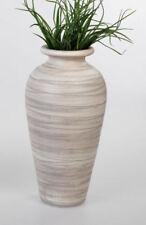 Floreros decorativos de cerámica color principal marrón para el hogar