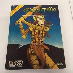 Advanced Dungeons & Dragons Fiend Folio TSR 2012 Don Turnbull Free S&H AD&D