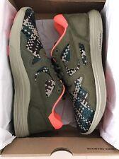 Nike Men's Lunar Flow Woven QS Olive Sneakers, Size 10US NIB