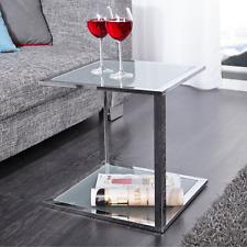 Couchtisch Glas Chrom In Beistelltische Günstig Kaufen Ebay