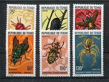 Tschad 693/98 postfrisch / Insekten ......................................1/2373