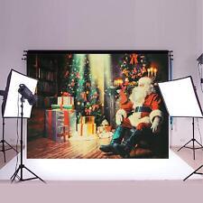 7x5ft Christmas Santa Vinyl Photography Backdrop Photo Studio Props Background