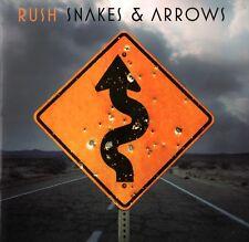 RUSH 2007 / 2008  SNAKES & ARROWS  TOUR CONCERT PROGRAM BOOK / NMT 2 MINT