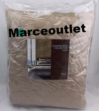 Hudson Park Collection, Concerto KING Quilted Coverlet Taupe