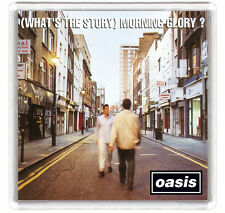 OASIS - WHAT'S THE STORY MORNING GLORY LP COVER FRIDGE MAGNET IMAN NEVERA
