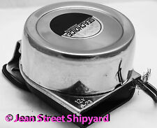 12 Volt Boat Marine Stainless Compact Single Electric Horn Safety Sound Signal