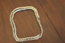 Königskette, 925 Silber,63 cm lang