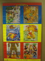 vintage 1996 The Beginners Bible poster bible stories   4690