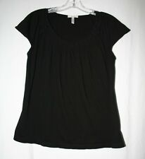 Old Navy Maternity Size M Sleeveless Black Cotton Modal Blend Top Shirt