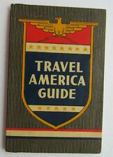 Hotel Directory For Travel America Guide 1946 Ahrens Publishing Co.