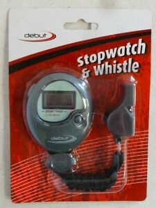Debut stopwatch & whistle