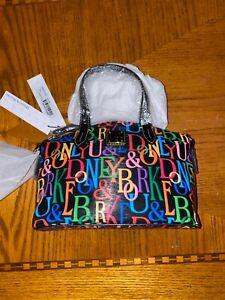 NWT Dooney & Bourke SMALL Bitsy Bag Black Ruby PP8000