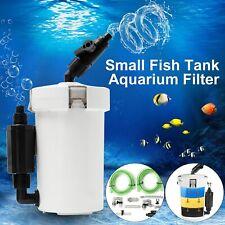 HW-603B(L) 6W External Canister Filter Table Top Aquarium Fish Tank 400L/h 220V
