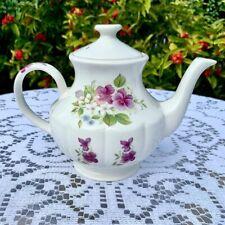 Arthur Wood & Son Floral Teapot 8414