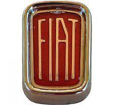 Fregio Stemma Emblema Fiat 500 L ( Plastica )