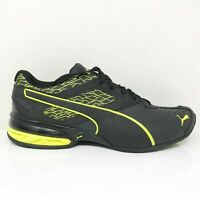 Puma Mens Tazon 6 189875 05 Black Running Shoes Lace Up Low Top Size 10.5