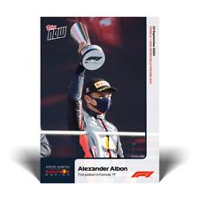 Topps Now Formula 1 - Card 004 - Alexander Albon - First Podium in Formula 1