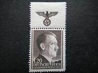 Germany Nazi 1941 1942 1944 Stamp MNH Adolf Hitler Swastika Eagle Generalgouvern