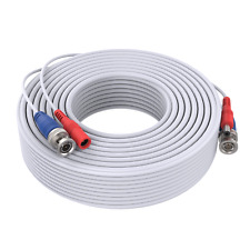 White 1pcs Special 100ft/30m Power CCTV Cable for Home Security System UK