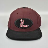 UMass Amherst Minutemen NCAA Twins Enterprise Vintage 90's Strapback Cap Hat