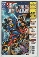 Superman: Our Worlds at War Secret Files #1 (Aug 2001, DC) Mahnke, Keown, Ryan