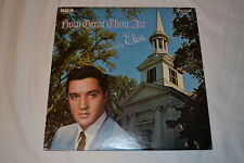 Elvis Presley How Great Thou Art LP 1967 RCA LSP-3758