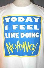Funny Procrastination Adult Small Medium White T-Shirt (S M Procrastinator)