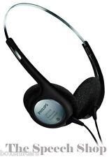 Philips LFH2236 Stereo Transcription Headphones *Brand New In Box*