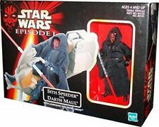 Star Wars The Phantom Menace Darth Maul + Speeder Action Figure