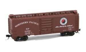 Northern Pacific NP 24790 Red Box Car Main Street of the Northwest N Scale