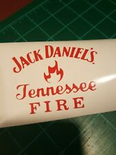 Jack Daniels Fire Vinyl  Decal for YETI Laptop Car Truck other colors availabl