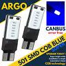 501 Car Bulbs Led Error Free Canbus Cob Smd Cool Blue Ice W5W T10 Side Light 12v