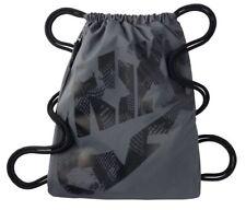 Nike Heritage Drawstring Gym Bag Back Pack Dark Grey/Black