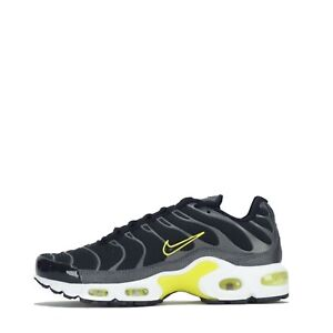 Nike Air Max Plus Tuned Women TN Trainers Shoes Black Yellow