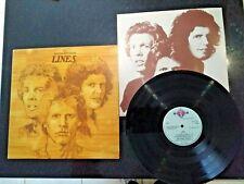 "WALKER BROTHERS ""LINES"" ORIG 1976 LP (SCOTT WALKER)"