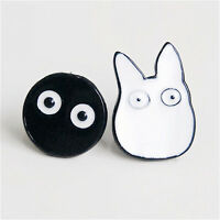 1Pair Women  Cute Cartoon Jewelry Animal Totoro Ear Stud Piercing EarRCCA