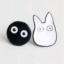 1Pair Women Fashion Cartoon Jewelry Animal Totoro Ear Stud Piercing Earring*v*_C