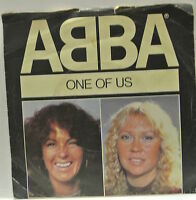 """7"""" VINYL SINGLE One of Us b/w Should I Laugh Or Cry by Abba 1981. Epic EPC A1740"""