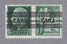 Zara 35 II Aufdruck Type III postfrisch und geprüft