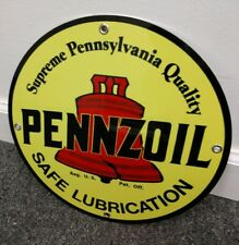Pennzoil Gas Oil gasoline sign ... free ship on any 10 signs