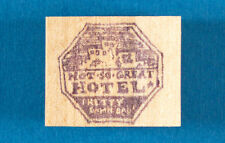 Not-So-Great Hotel Sign Rubber Stamp by Rubber Baby Rubber Bumpers Bad Vacation